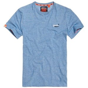 Superdry O L Vintage Embroidery S/S Tee Royal Blue Feeder