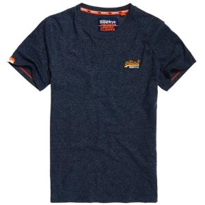 Superdry O L Vintage Embroidery S/S Tee Classic Blue Feeder