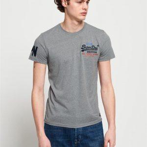 Superdry Vintage Logo Cali Fade Lite Te Grey Grit