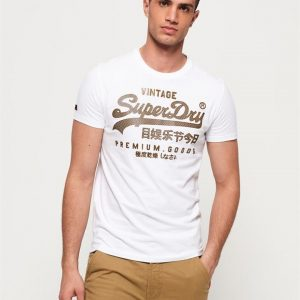 Superdry Vntge Logo Authntc Midweight T Optic