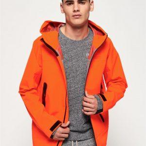 Superdry Hydrotech Waterproof Jacket Orange