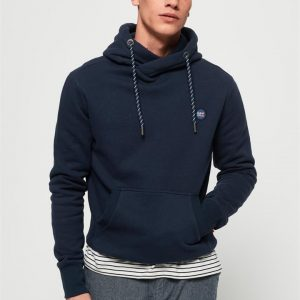 Superdry Collective Hood Box Navy