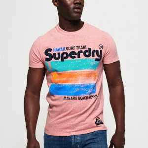 Superdry 76 Surf Tee Bliss Pink