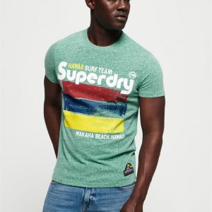 Superdry 76 Surf Tee North Green