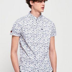 Superdry Premium Shoreditch S/S Shirt Lotus Flower Optic