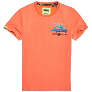 Superdry Limited Icarus Hyper Classic T Radiant Orange