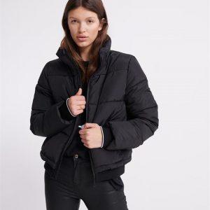 Superdry Ls Essentials Padded Jacket Black