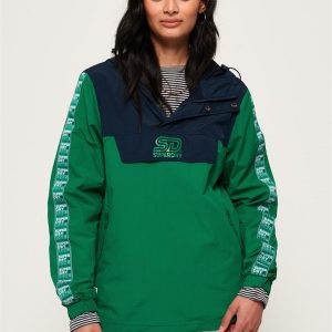 Superdry 90 S Colour Block Overhead Green