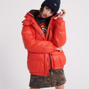 Superdry Astrid Puffer Apple Red