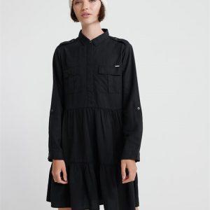 Superdry Kathryn Dress Washed Black