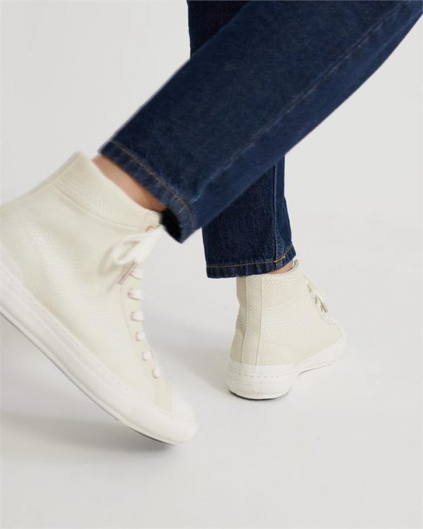 Superdry Premium Pacific High Top Soft White