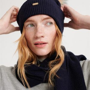 Superdry Heritage Ribbed Beanie Eclipse Navy