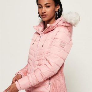 Superdry Luxe Fuji Pale Pink