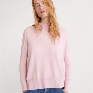 Superdry Jayden Luxe Jumper Soft Pink Marle