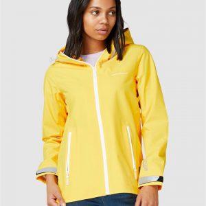 Superdry Harpa Waterproof Jacket Spring Yellow