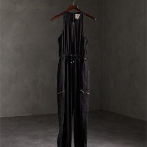Superdry Kaya Utility Jumpsuit Black