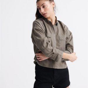 Superdry Desert Oversized Shirt Bungee Cord