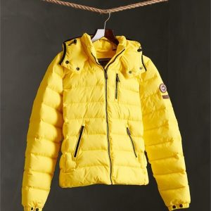 Superdry Summer Microfibre Jacket Bright Yellow