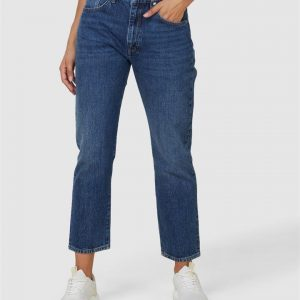 Superdry High Rise Straight Clinton Blue Stone 30