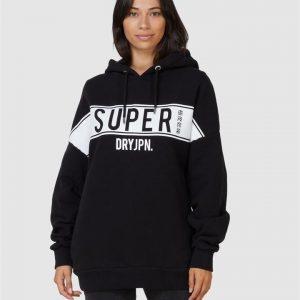 Superdry Sdry Panel Hood Black