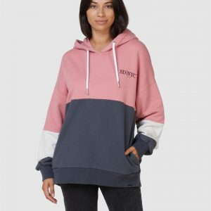 Superdry Nyc Times Colour Block Hood Iron Gate