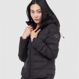 Superdry Boston Microfibre Jacket Black