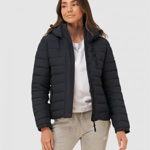 Superdry Classic Fuji Padded Jacket Eclipse Navy