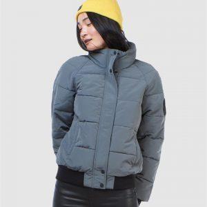 Superdry Everest Non Hooded Bomber Slate Grey