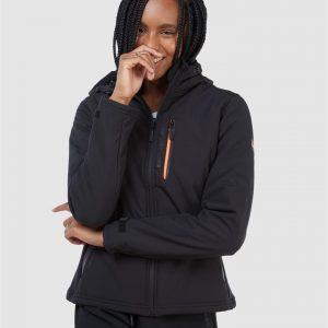 Superdry Arctic Soft Shell Jacket Black