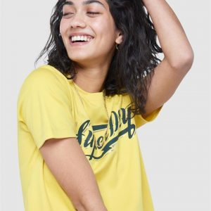 Superdry Bohemian Band Crew Spring Yellow