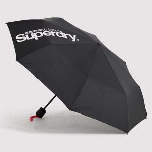 Superdry Sd Minilite Umbrella Reactive Black
