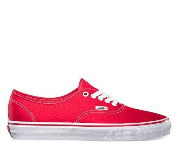 Vans Vans Authentic Red