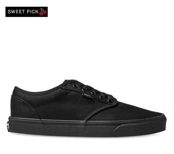Vans Vans ATWOOD CANVAS BLACK (Canvas) Black & Black