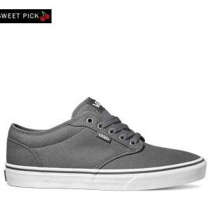 Vans Vans Atwood (Canvas)Pewter &  White