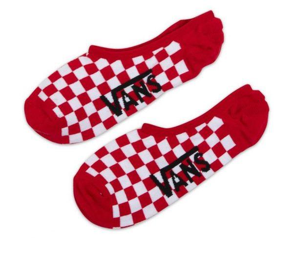 Vans Vans CHECKERBOARD SOCK Racing Red