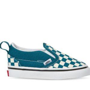 Vans Vans Toddler Slip-On Velcro Blue Coral & True White