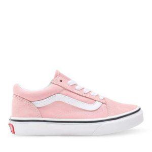 Vans Vans Kids Old Skool Powder Powder Pink & True White
