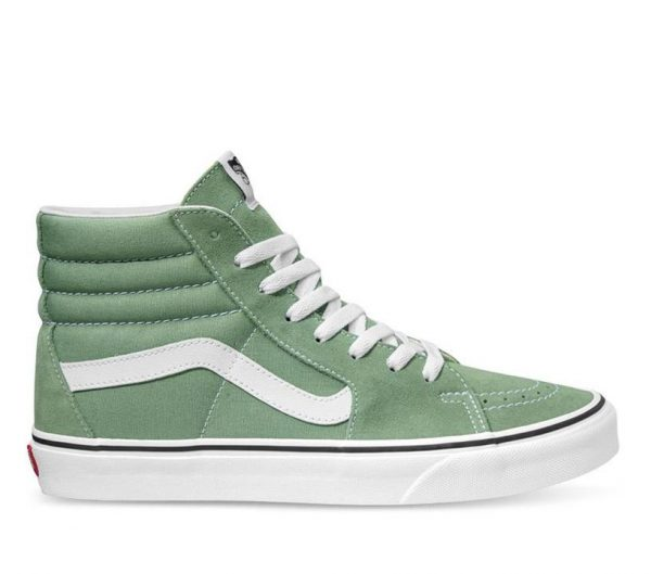 Vans Vans Sk8-Hi Shale Shale Green & True White