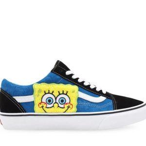 Vans Vans Vans X SpongeBob Old Skool Black & Blue