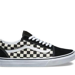 Vans Vans YOUTH OLD SKOOL PRIMARY CHECK BLACK (Primary Check) Black & White