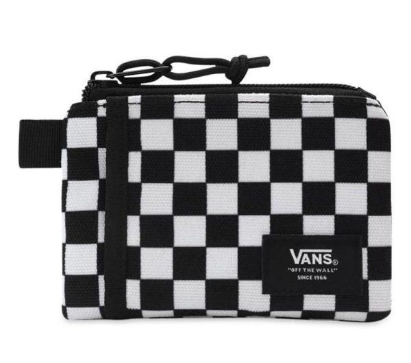 Vans Vans Vans Pouch Wallet Black-White Check