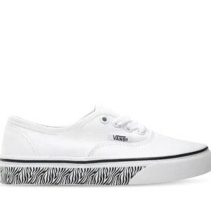 Vans Vans Kids Authentic Animal Sidewall Zebra & White