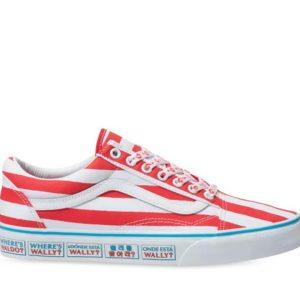 Vans Vans Vans X Where's Waldo Old Skool International & Stripes