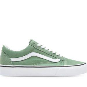 Vans Vans Old Skool Shale Green & True White