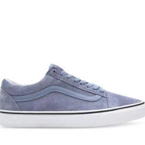 Vans Vans Old Skool Pig Suede Tempest Blue & True White
