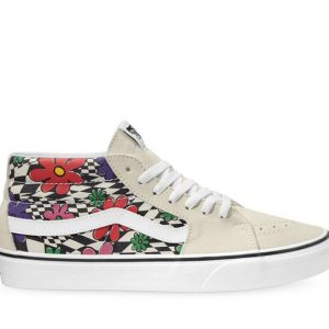 Vans Vans Sk8-Mid Floral Check Floral Check & Marshmallow