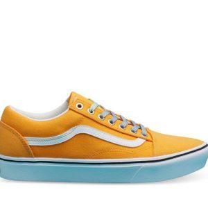 Vans Vans Comfycush Old Skool Laced Saffron & True White