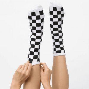 Vans Vans Ticker Sock 6.5-10 1pk Black & White