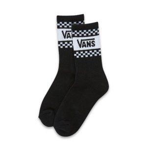 Vans Vans Girl Gang Crew Sock 6.5-10 1Pk Black & White