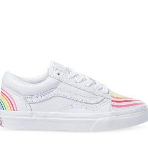 Vans Vans KIDS VANS x FLOUR SHOP OLD SKOOL RAINBOW Rainbow & True White